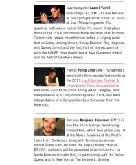 Manhattan School of Music President's Newsletter, October 2015